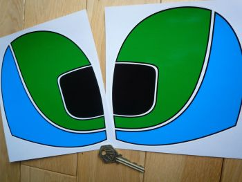 "British Leyland Austin Rover Helmet Stickers. 4"" or 6"" Pair."