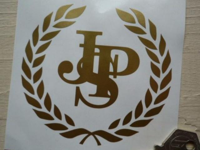 """John Player Special JPS Garland Cut Vinyl Sticker. 8""""."""