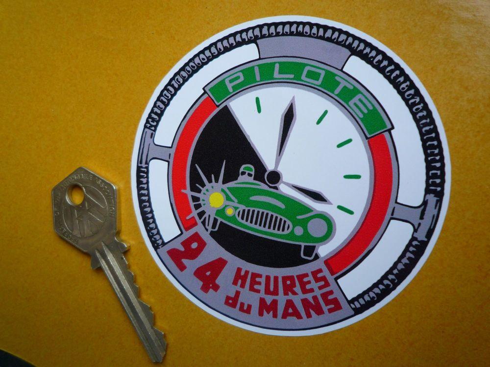 Le Mans Pilote 24 Heures Du Mans Lemans Sticker 3 25 Quot