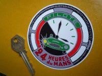 """Le Mans Pilote 24 Heures du Mans LeMans Sticker. 3.25""""."""