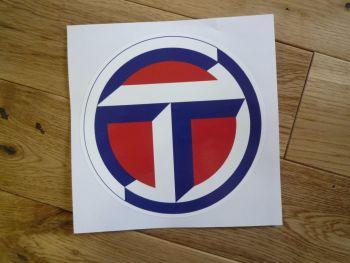 """Talbot Circular Logo Sticker. 12""""."""