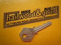 Hailwood and Gould (Mike Hailwood and Rod Gould) Birmingham Motorcycle Dealers Sticker. 4