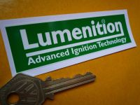 Lumenition Ignition Green Sticker. 4