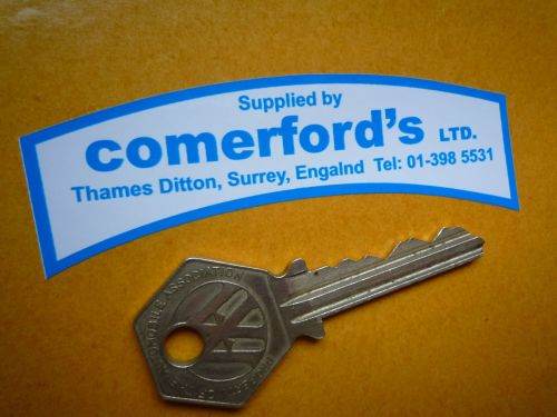 Comerford's Ltd Motorcycle Dealers Sticker. Later 70's style tank top  85mm