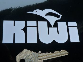 "Kiwi Helmets Cut Vinyl Sticker. 4""."