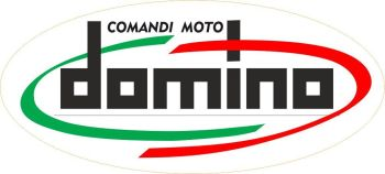 Domino Comandi Moto Italia Twistgrip Sticker. 85mm.