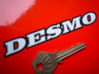Ducati Desmo 'Outlined Text Style ' Cut Sticker. 4.25