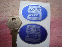 Quaife 5 Speed Oval Shaped Stickers. 2