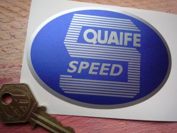 Quaife 5 Speed Oval Shaped Sticker  3.75""