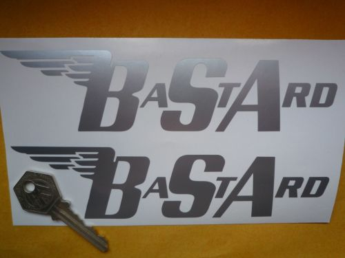 BSA BaStArd Cut Vinyl Angular Style Gas Tank Stickers. 7