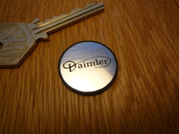 Daimler Logo Circular Laser Cut Self Adhesive Car Badge. 25mm.