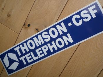 Thomson - CSF Telephon Group C Sportscars Sponsors Sticker. 350mm.