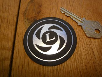 British Leyland Logo Circular Self Adhesive Car Badge. 60mm.