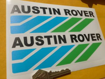 "Austin Rover Translucent Headlight Stickers. 7.5 or 11"""" Pair."