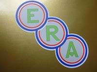 ERA Shaped Car or Window Stickers. 3