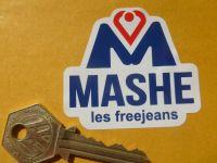 """Mashe Helmet Sticker. Barry Sheene etc. 3""""."""