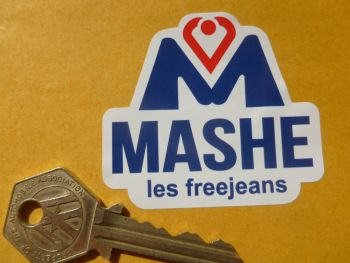 "Mashe Helmet Sticker. Barry Sheene etc. 3""."