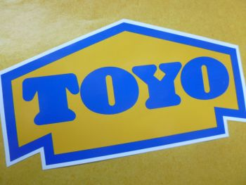 "Toyo Arrow Style Vinyl Sticker. 4"", 6"", or 8.5"" ."