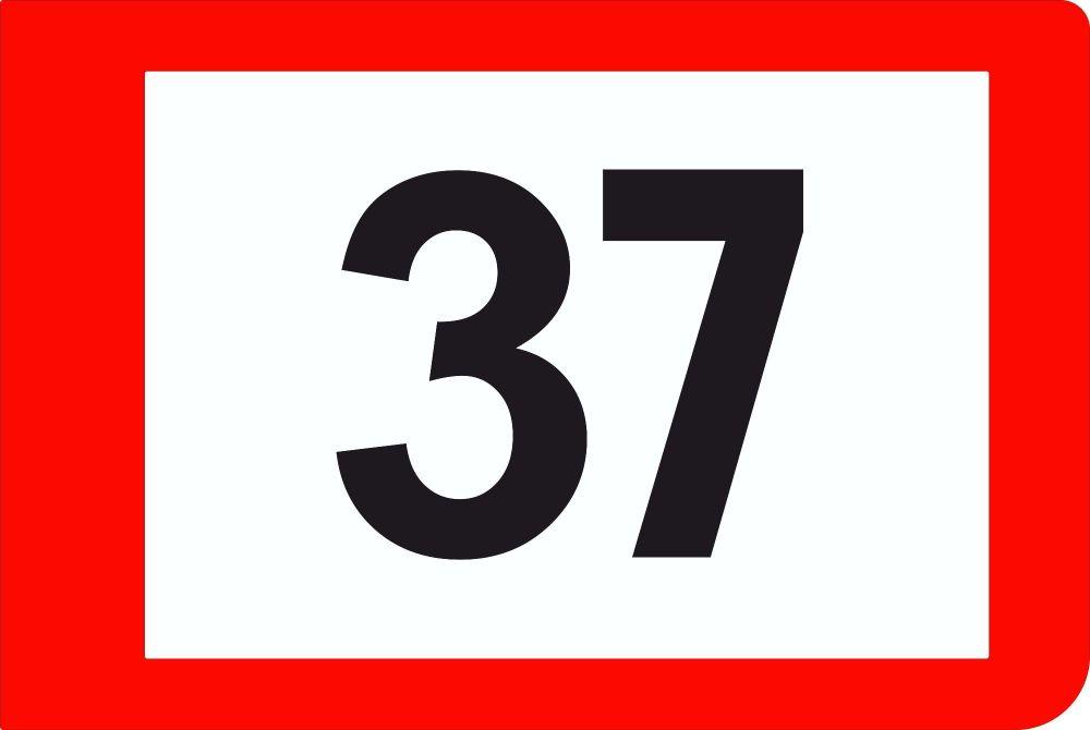 """Mini Cooper S No.37 1964 Monte-Carlo Rallye Winner Door Panel & Numbers Sticker Set. 26"""" Pair."""