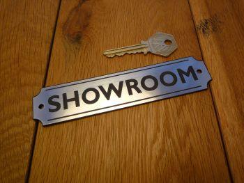 """Showroom Wall Plaque or Door Sign. 5.5""""."""