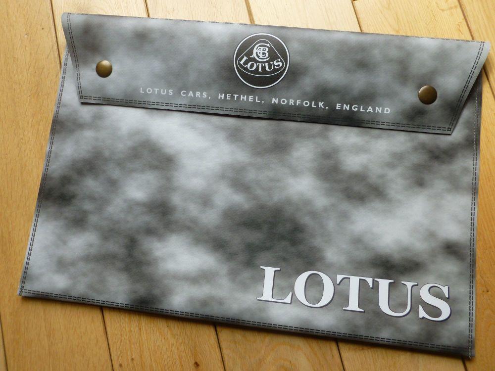 Lotus Grey Large Document Holder Bag. Medium or Large.