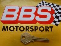 """BBS Motorsport Bodywork or Window Sticker. 5""""."""