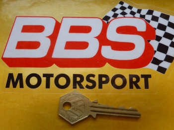"BBS Motorsport Bodywork or Window Sticker. 5""."