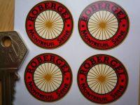 Robergel Wire Wheel Rim Detail Stickers. Set of 4. 30mm.