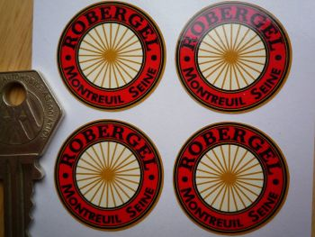 Robergel Wire Wheel Rim Detail Stickers. Set of 4. 30mm.