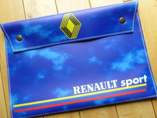Renault SPORT Large Document Holder/Wallet. A4.