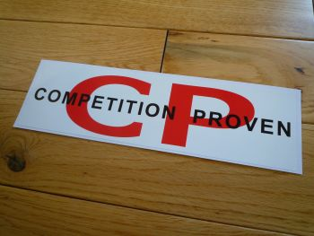 "Competition Proven Oblong Stickers. 20"" Pair."