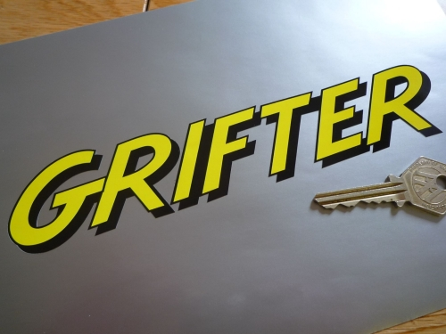 Raleigh Grifter Sticker in Raleigh Style Text  8