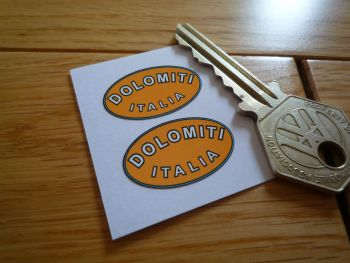 Dolomiti Italia Wheel Rim Stickers. 27mm Pair.