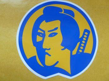 Toyo Sumo Head Style Vinyl Sticker. 220mm.