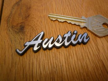 "Austin Style Self Adhesive Car Badge. 2.5""."
