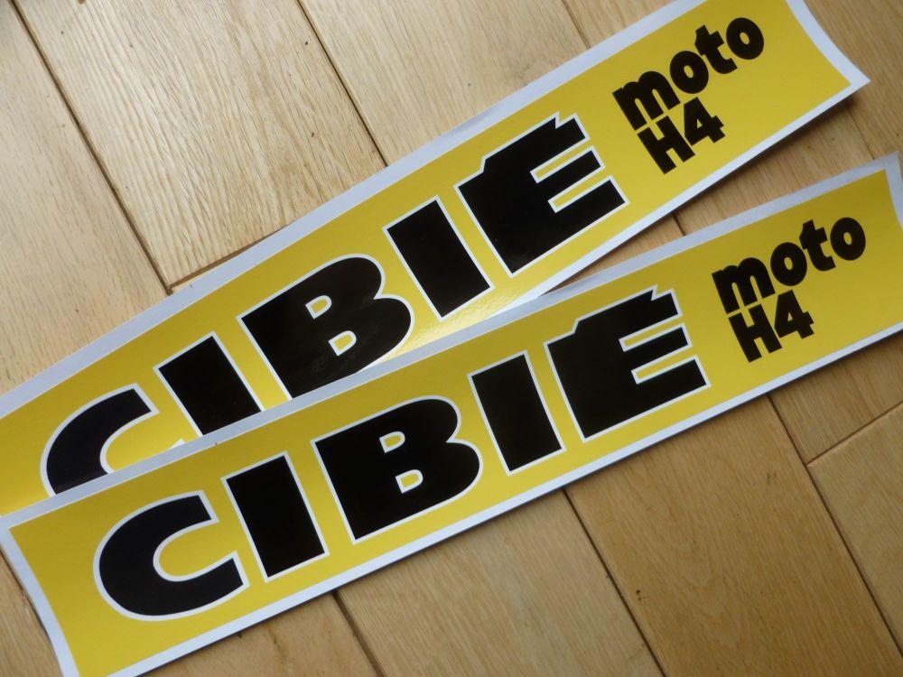 Cibie MOTO H4 Stickers. 14