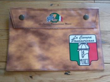 "La Carrera Panamericana Document Holder Toolbag. 10"". Slight Second 301."