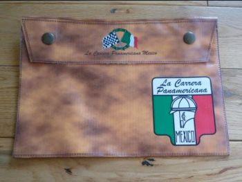 "La Carrera Panamericana Document Holder Toolbag. 10"". Slight Second 301."