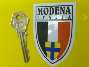 "Modena Italia Crest Window or Car Body Sticker. 2.75""."