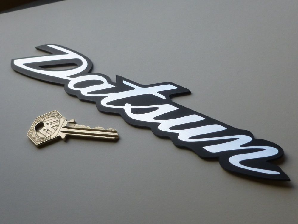 Datsun 240Z 260Z 280Z Self Adhesive Car Badge. 225mm