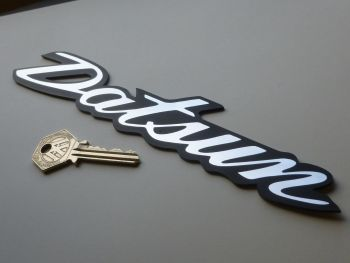 Datsun 240Z 260Z 280Z Self Adhesive Car Badge. 225mm.