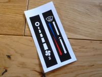 Heater Control Slider Stickers. Special Offer Pair. SS116.
