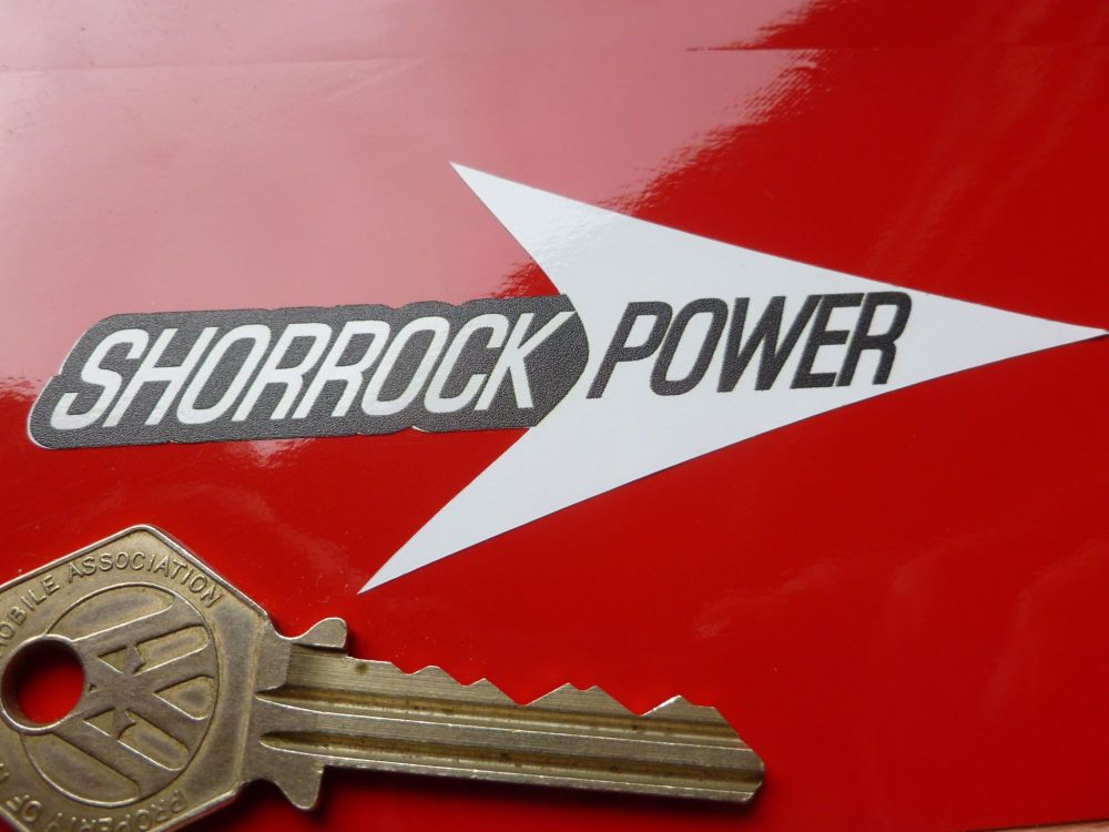 Shorrock Power small arrow Stickers. 4
