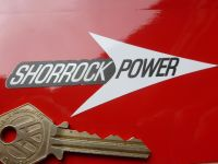 "Shorrock Power Small Arrow Stickers. 4"" Pair."