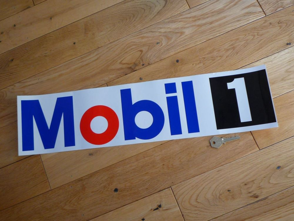 Mobil One Coloured Cut Vinyl Sticker  22