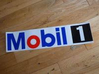 "Mobil One Coloured Cut Vinyl Sticker. 22""."
