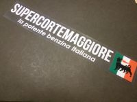 "Supercortemaggiore Rear or Side Window Sticker. 6"" or 10""."