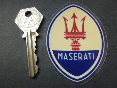 Maserati WINDOW Sticker 75mm