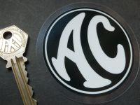 AC Cars Logo Window Sticker. 3