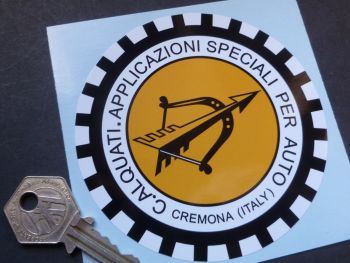 ALQUATI Italian Tuning specialist Car or Window Sticker. 100mm